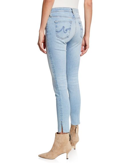 AG The Legging Ankle Jeans with Splits