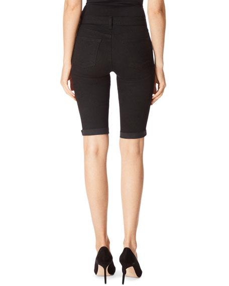 J Brand 811 Mid-Rise Skinny Bermuda Shorts