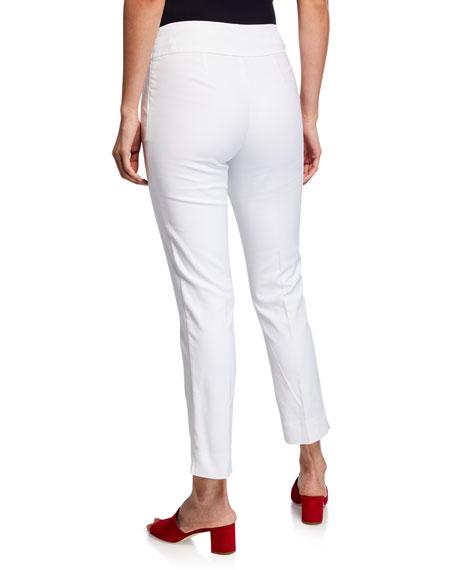 NIC+ZOE Petite Perfect Pant Straight-Leg Slim Ankle Pants