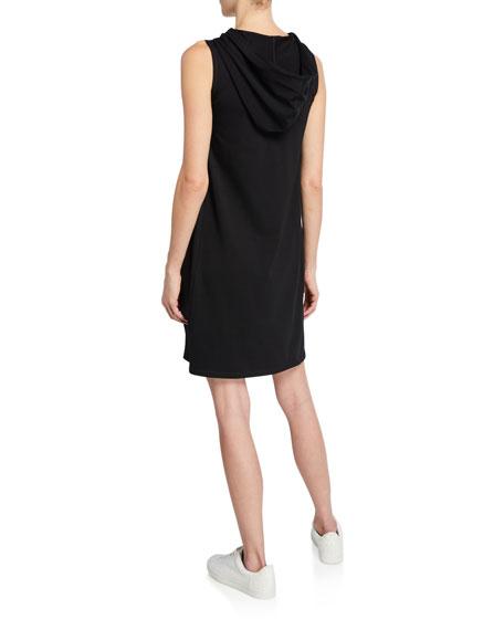 Eileen Fisher Hooded Sleeveless Cotton Jersey Dress