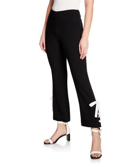 cinq a sept Izella Contrast Lace-Up Pants