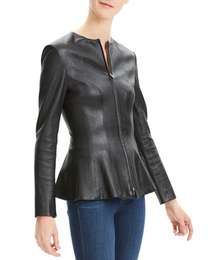 42ae414fe47 Women s Contemporary Leather Jackets   Coats at Neiman Marcus
