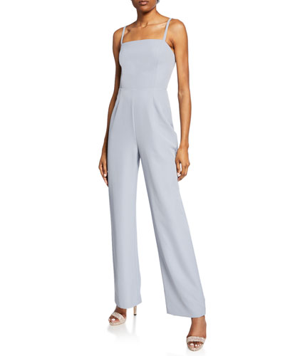 The Charlize Backless Jumpsuit