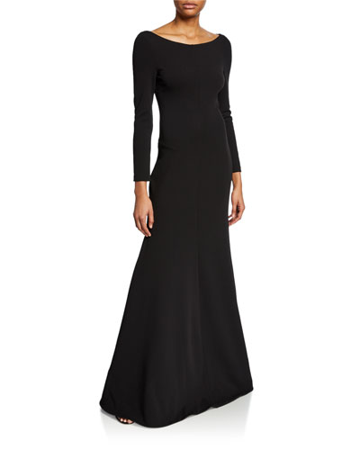 Perrine Long-Sleeve Cocktail Dress