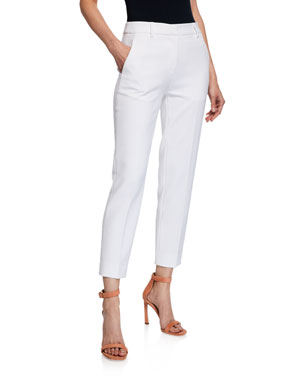 3a2abe6b890309 Diane von Furstenberg Dahlia Straight-Leg Ankle Pants