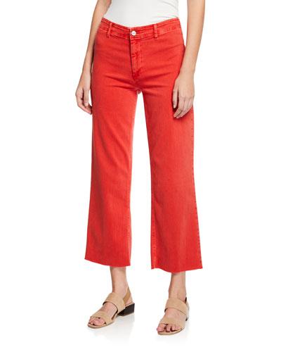 Nellie Clean-Front Culotte Pants