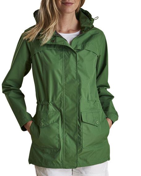 Barbour Dalgetty Waterproof Detachable-Hood Jacket