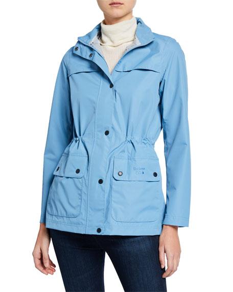 Barbour Drizzel Raincoat w/ Detachable Hood