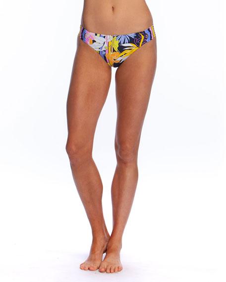 Trina Turk Bal Harbour Shirred Hipster Bikini Bottom