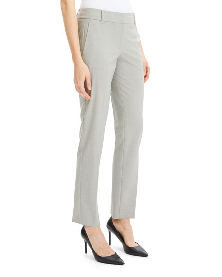 Theory Straight-Leg Good Wool Suiting Trousers