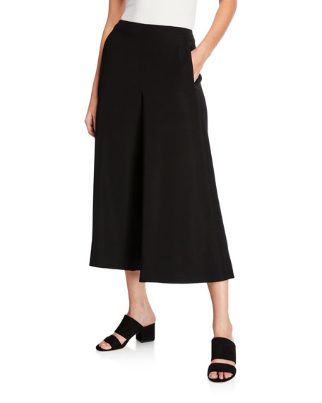 Vince High-Rise Cropped Culottes