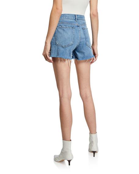 Rag & Bone Dre Low-Rise Distressed Shorts