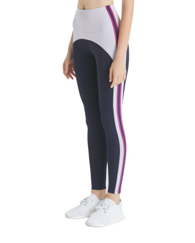 Damon Colorblock Side-Stripe Leggings