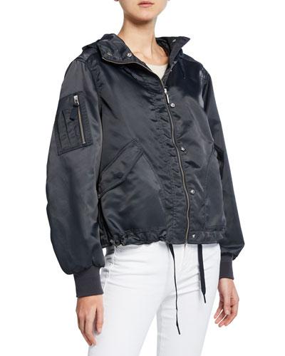 Refined Waterproof Bomber Jacket