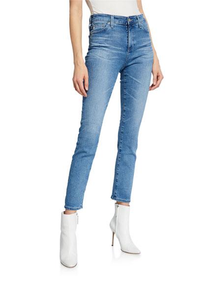AG Mari High-Rise Straight Jeans