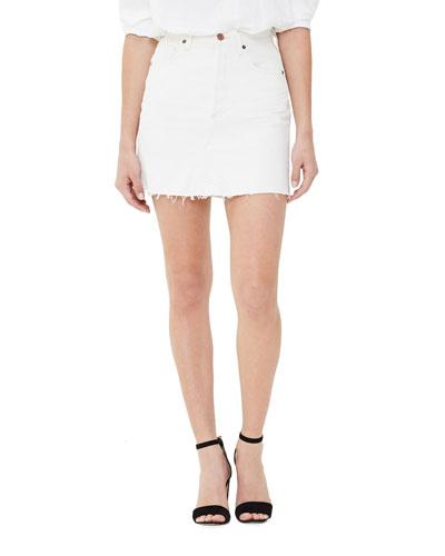 Astrid Denim Mini Skirt