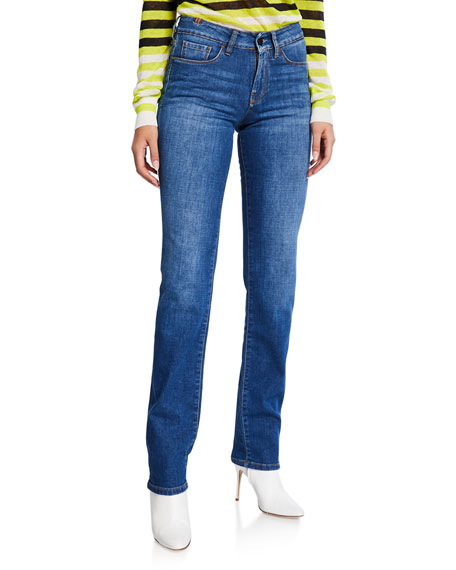 Atelier Notify Nerium High-Rise Straight Jeans