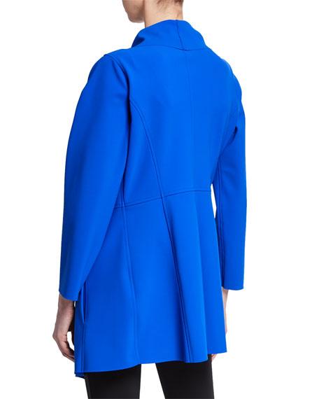 Chiara Boni La Petite Robe Leonida B Open-Front Shawl Cardigan