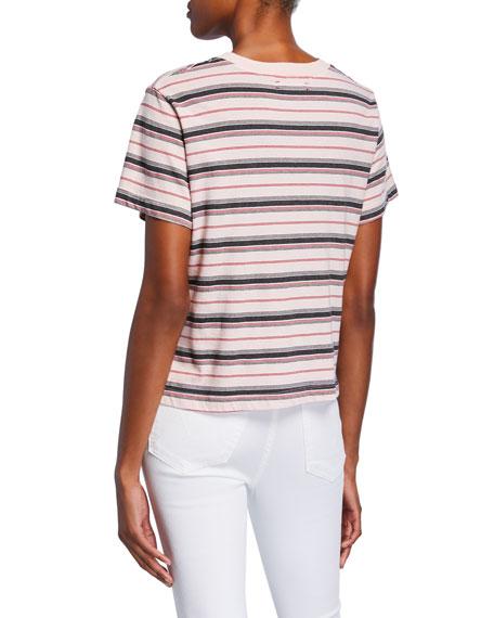 Xirena Jess Striped Short-Sleeve Cotton T-Shirt