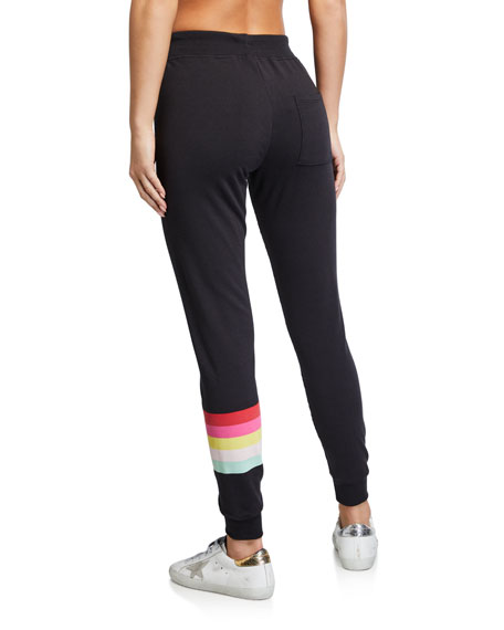 Spiritual Gangster Muse Side-Stripe Jogger Pants