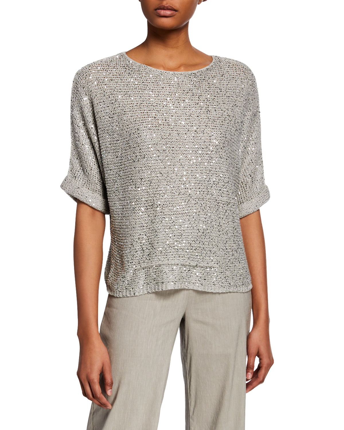 NIC+ZOE Womens Shine Top