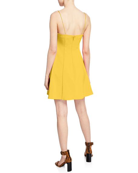 Likely Carter Spaghetti-Strap Mini A-Line Dress