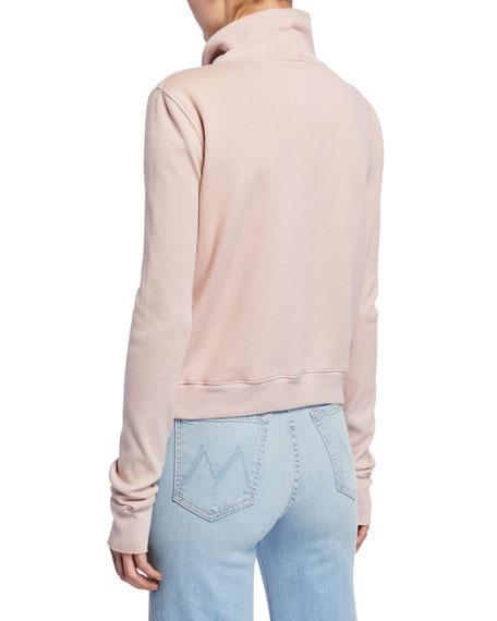 Frank & Eileen Tee Lab Frayed Zip-Front Fleece Jacket