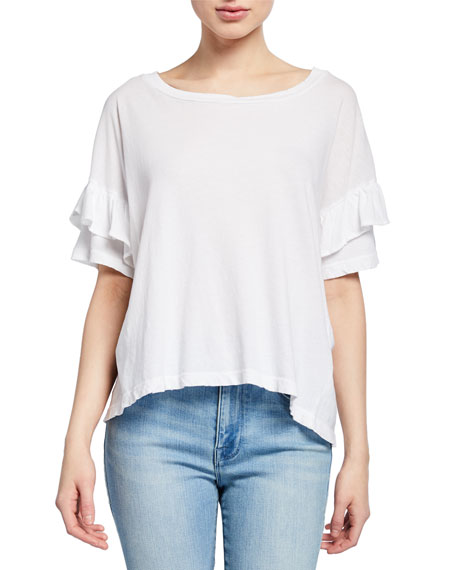 Image 1 of 2: Current/Elliott Ruffle Roadie Tee