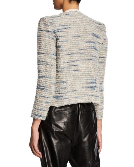Iro Belugo Open-Front Wool Jacket