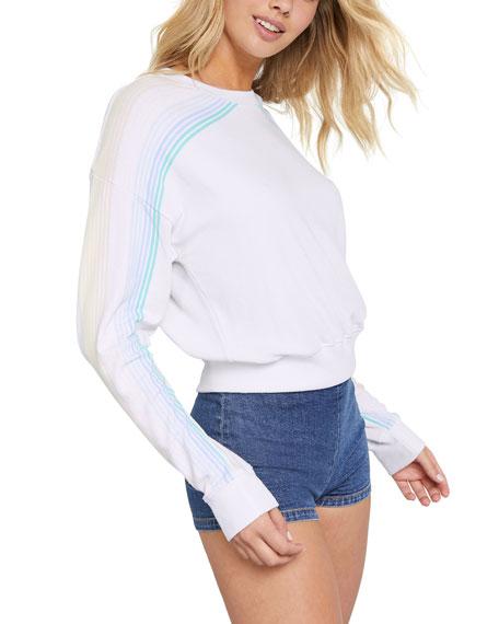 Spiritual Gangster Stripe Long-Sleeve Shirt