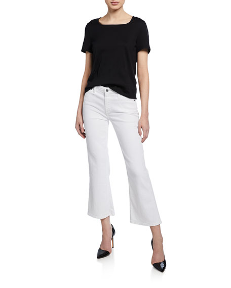 AG Quinne Crop Mini Flare Jeans