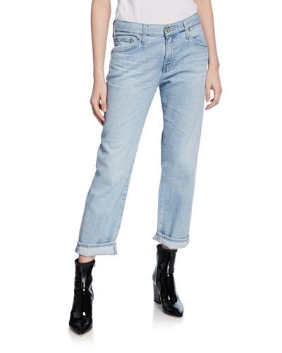 Ex Boyfriend Slim Cropped Jeans