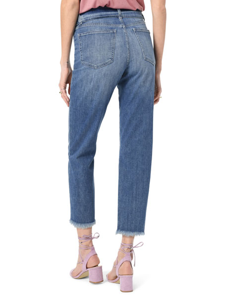 Joe's Jeans The Jane Crop Straight Jeans with Belt