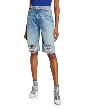 05437c6f69 Women's Designer Shorts: Denim & Linen at Neiman Marcus
