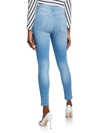 Hudson Nico Mid-Rise Skinny Ankle Jeans