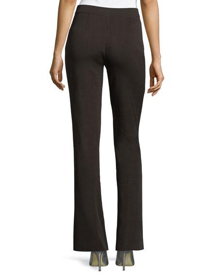 Misook Plus Size Casey Boot-Cut Pants