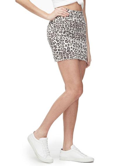 Good American Leopard-Print Mini Skirt - Inclusive Sizing