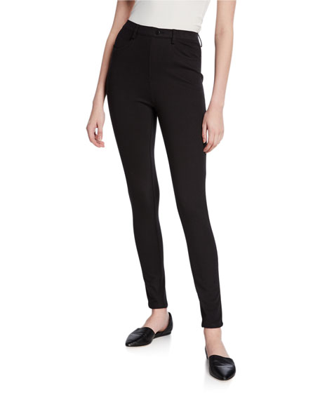 DUBGEE by Whoopi Plus Size Five-Pocket Stretch Twill Ankle Jeans