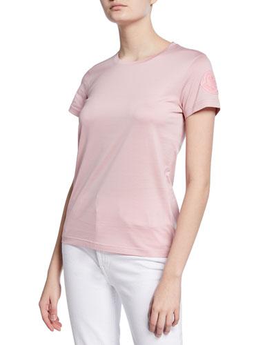 Slim-Fit Logo-Sleeve T-Shirt