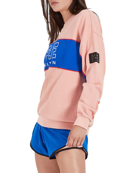 PE Nation Sonic Logo Pullover Sweater