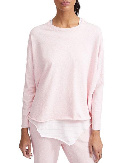 Frank & Eileen Tee Lab Oversized Continuous Long-Sleeve Sweatshirt