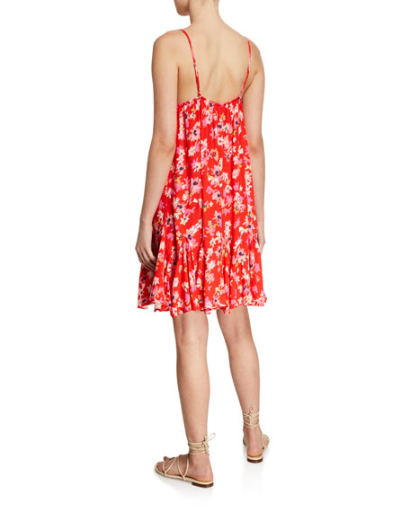 Yumi Kim Destination Floral Godet Dress