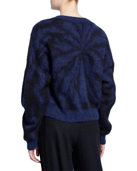 Vince Tie-Dye Crewneck Sweater