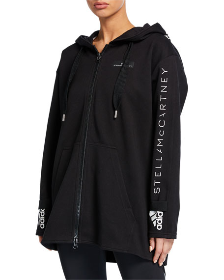 adidas by Stella McCartney Oversized Hoodie Jacket
