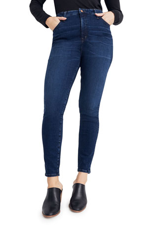 "Madewell 11"" Rise Curvy Skinny Jeans - Inclusive Sizing"