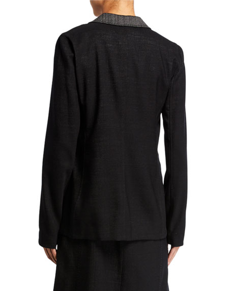 Lafayette 148 New York Rozella Dual Weave Suiting Jacket