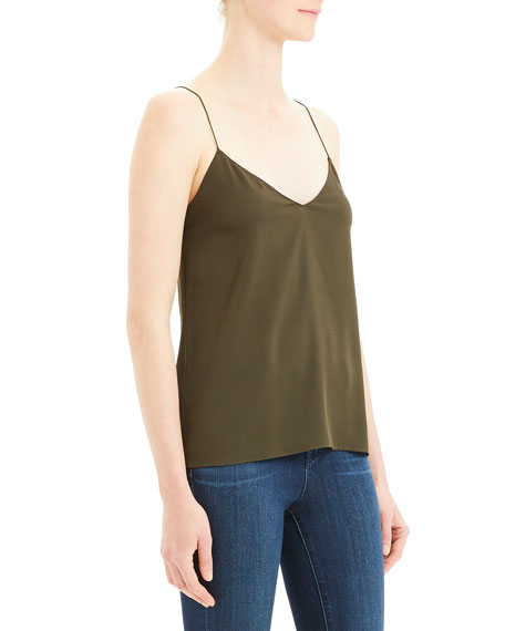 Theory Darted Core St. Silk Cami