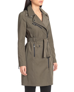 f88d0785688 Raincoats & Trench Coats for Women at Neiman Marcus