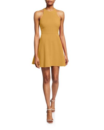 Moore Sleeveless Short Dress