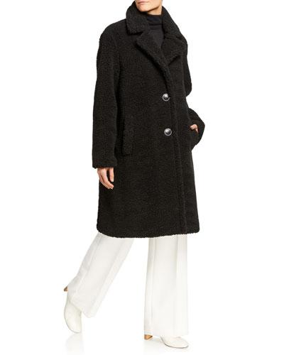 Lisen Faux Fur Long Coat